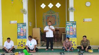 Ditreskrimsus Polda Jambi bagikan sembako kepada pengurus rumah ibadah