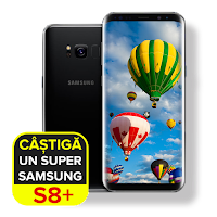 Castiga un telefon Samsung Galaxy S8+