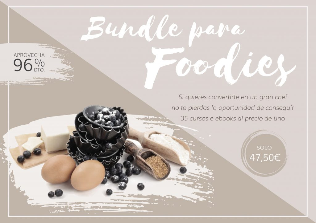 BUNDLE PARA FOODIES AL 96 % DTO