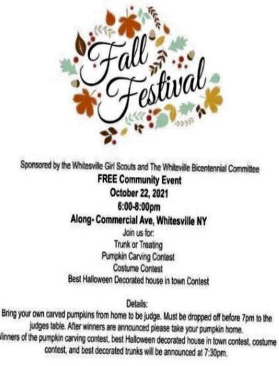10-22 Whitesville Fall Festival