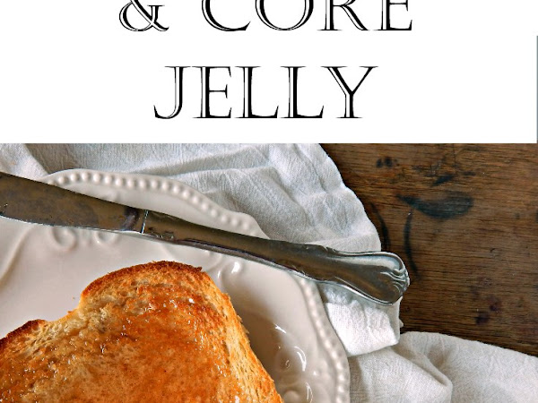 Low Sugar, No Pectin Apple Peel and Core Jelly Recipe