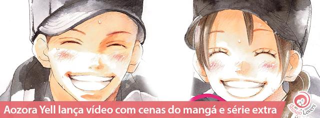 Aozora Yell lança vídeo com cenas do mangá e série extra