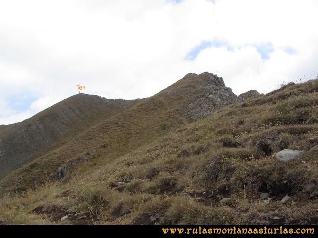 Ruta Ventaniella, Ten y Pileñes: Parte final a la cima del Ten
