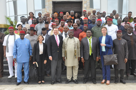 """Youths of Nigeria and Africa are frustrated"" Says Okorocha, As US Ambassador Calls For Training"