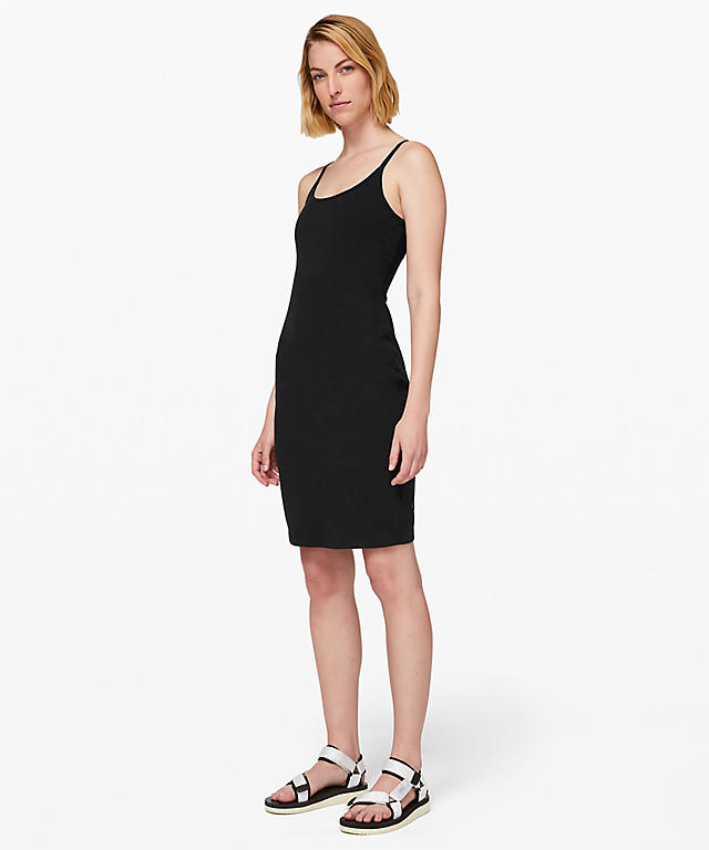 c1d10396d3adf Super cute Inner Glow Dress. Shown in Black and Washed Half Moon.
