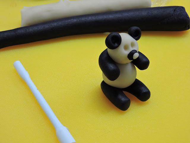 Panda en massepain