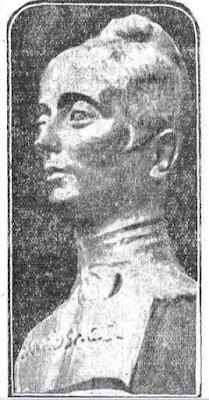 Busto de Rosario de Acuña, del escultor José María Palma