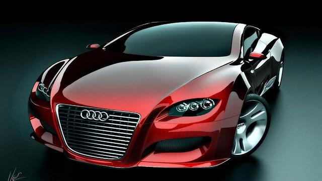 Wallpaper Mobil Sport Keren Hd: Gambar Mobil Merah Keren HD