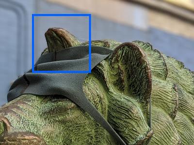 Bokeh test_statue_Pixel 4_crop