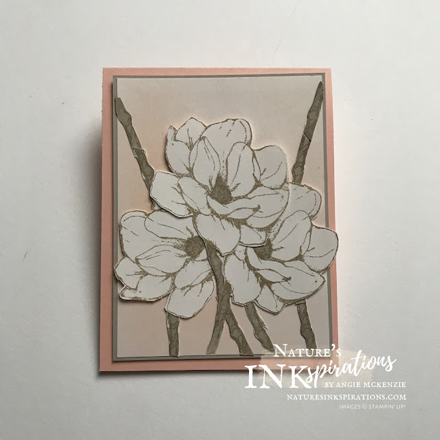 By Angie McKenzie for Stampin' Dreams Blog Hop; Click READ or VISIT to go to my blog for details! Featuring the Good Morning Magnolia and To a Wild Rose stamp sets by Stampin' Up!; #friendshipcards #inspiredbytvseries #inspiredbysweetmagnolias #stamping #goodmorningmagnoliastampset #toawildrosestampset #blendingbrushes #inkblending #fussycutting #coloringwithblends #cardtechniques #janjun2021minicatalog #20202021annualcatalog  #naturesinkspirations #makingotherssmileonecreationatatime #stampinup #handmadecards