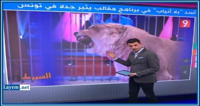 غضب عربي واسع وقنوات عالمية تنشر عن قلع أنياب أسد في الكاميرا الخفية
