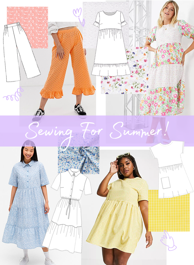 Sewing For The Season - Summer!