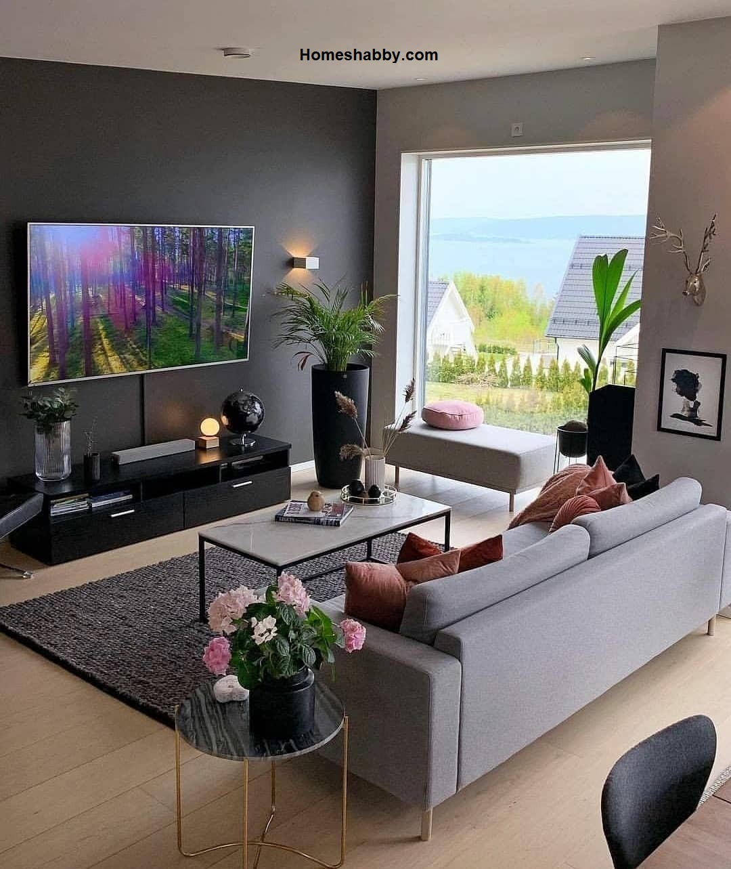 Inilah 6 Warna Cat Ruang Tamu yang Sejuk dan Nyaman untuk Keluarga ~ Homeshabby.com : Design Home Plans. Home Decorating and Interior Design