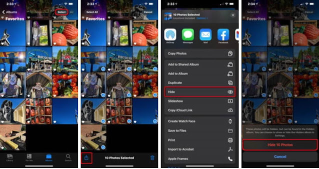 Cara Menyembunyikan Foto Dan Video di iPhone Atau iPad