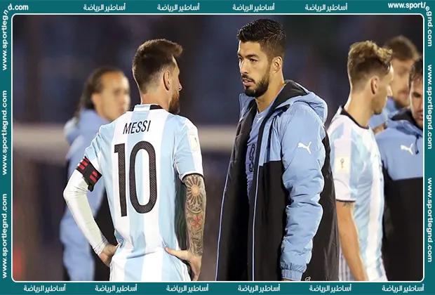 سواريز يحذر ميسي: لا توجد صداقات في الملعب