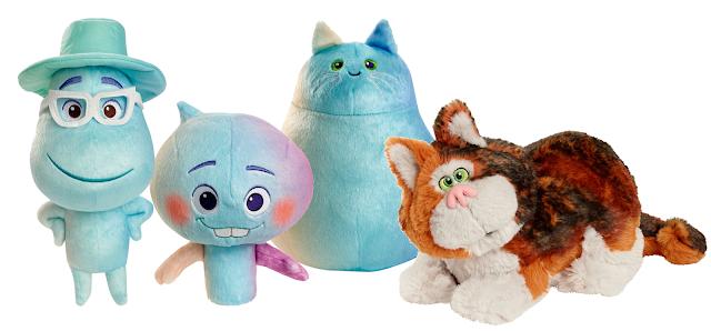 Pixar Soul Plush Toys