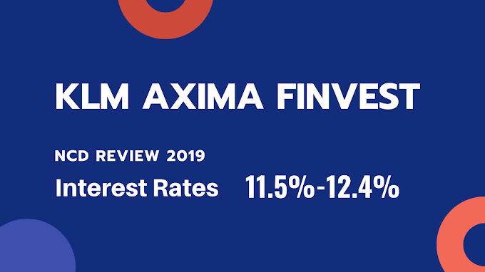 11.5% KLM Axima Finvest Limited NCD Issue September 2019