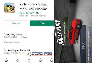[REVIEW] Game Rally Fury - Balap Mobil Reli Ekstrim, Menurut saya?