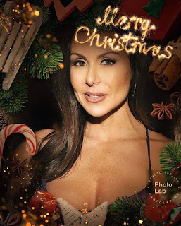 Kendra Lust Merry Christmas photos 2020