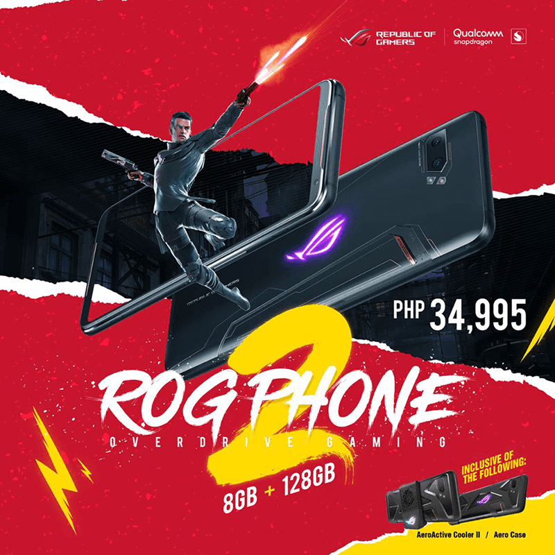ROG Phone II Strix Edition arrives in PH for PHP 34,995
