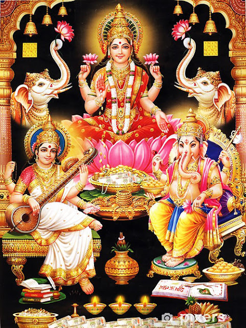 goddess hindu devi lakshmi wallpaper god photo ganesh image