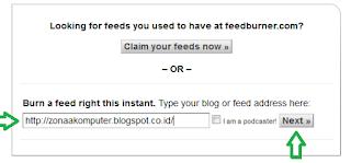 Cara membuat akun feedburner dengan mudah