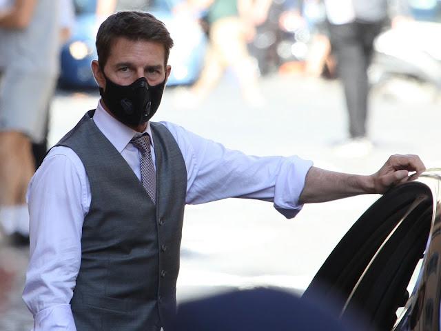 """""""Renuncian"""" 5 personas de Missión Impossible tras regaño de Tom Cruise"""