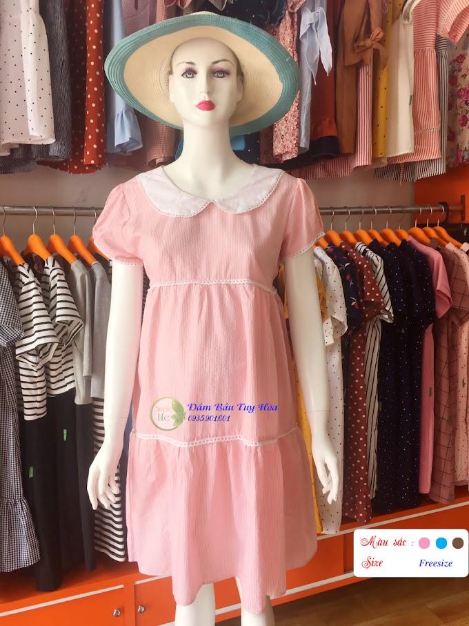 Đầm bầu thời trang công sở VN01