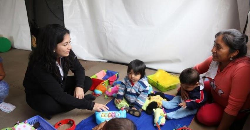 Cuna Más supervisa atención a niños damnificados por las lluvias en Piura