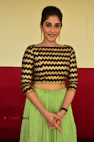 Actress Regina Candra Latest Pos in Green Long Skirt at Nakshatram Movie Teaser Launch  0143.JPG