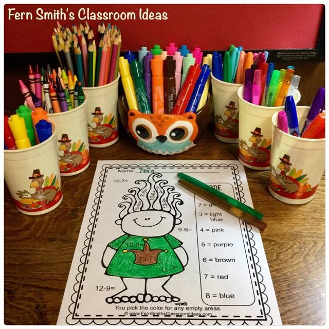 Visit This Classroom Freebies Free Resource at Fern Smith's Classroom Ideas! Helping Teachers Spend More Time With Their Family and Friends.