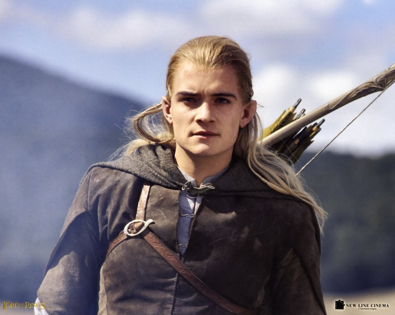 Orlando Bloom As Legolas Greenleaf Austenitis: J. ...