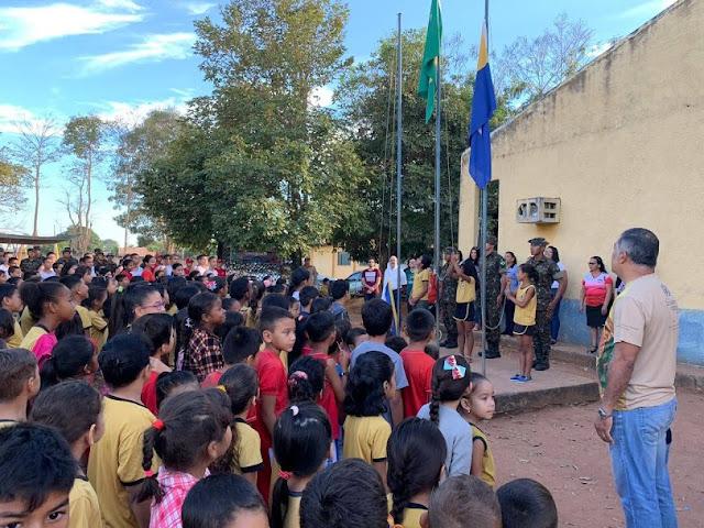 UNIR: Departamento Acadêmico de Administração realiza ações com alunos da Escola Municipal Maria Liberty