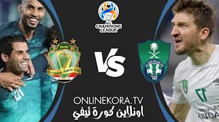مشاهدة مباراة الأهلي السعودي والشرطة العراقي القادمة بث مباشر اليوم 21-04-2021 في دوري أبطال آسيا