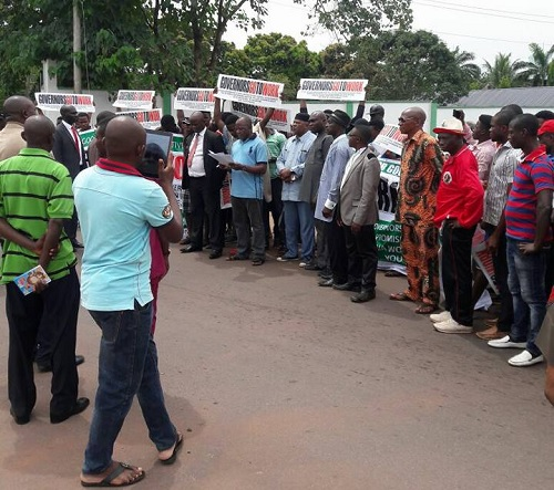 #GovernorsGoToWork Campaign Storm Enugu, Demand Accountability From Govs