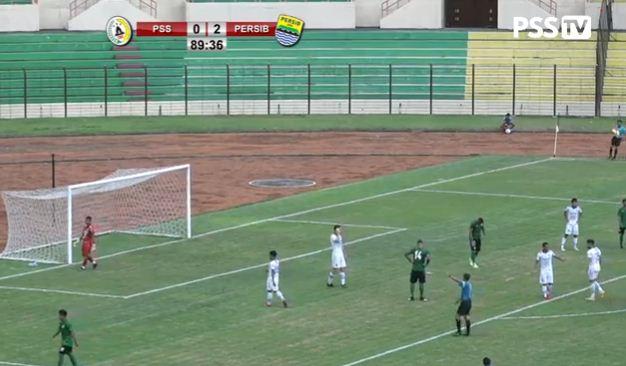 PSS Sleman vs Persib bandung 0-2 Highlights