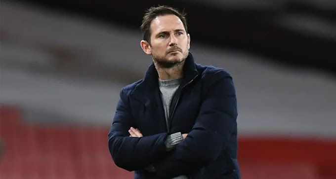 Frank Lampard 'lost it' at players during half time against Arsenal