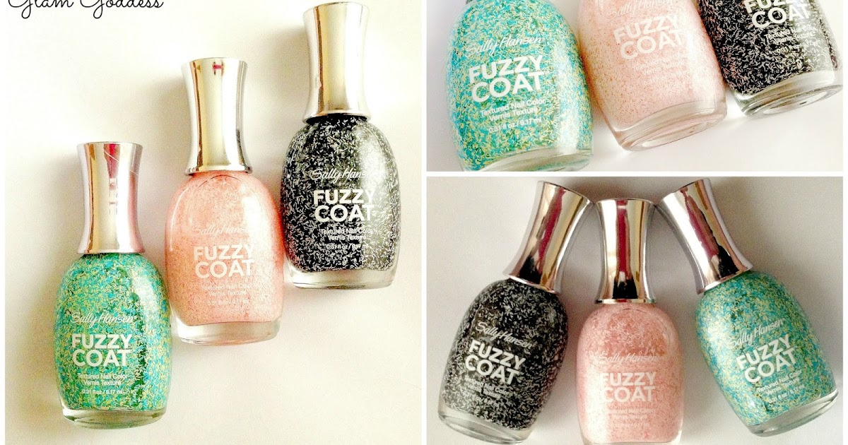 The Glam Goddess: Sally Hansen Fuzzy Coat Nail Polish ...