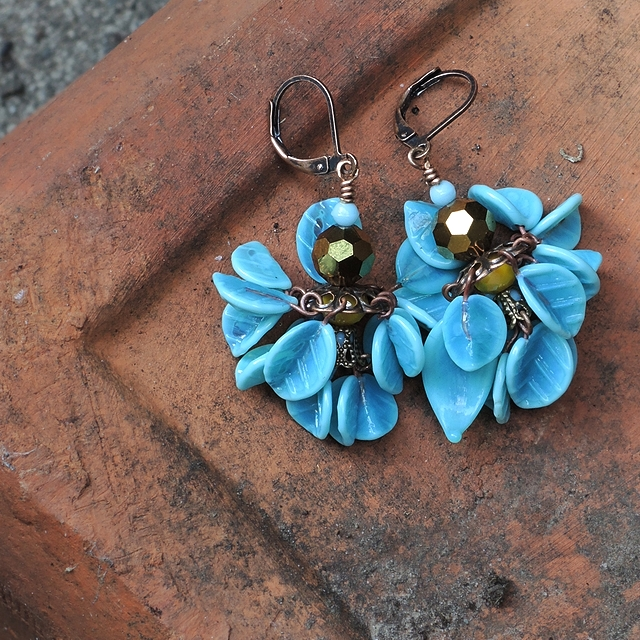 free tutorial for earrings - for personal use only