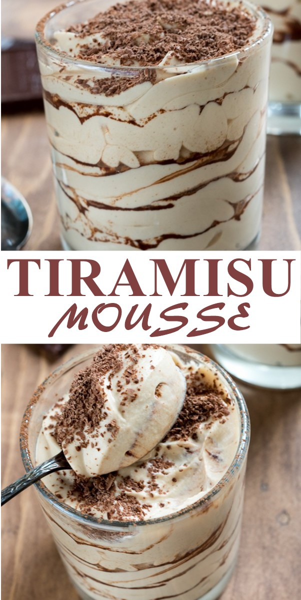 EASY TIRAMISU MOUSSE #Dessertrecipes