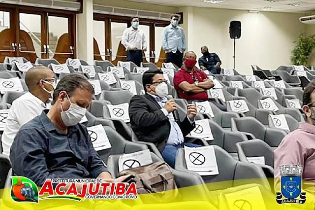 Prefeito Alex Freitas esteve, em reunião do Consórcio da SEINFRA, com o Secretário de Infraestrutura do Estado da Bahia
