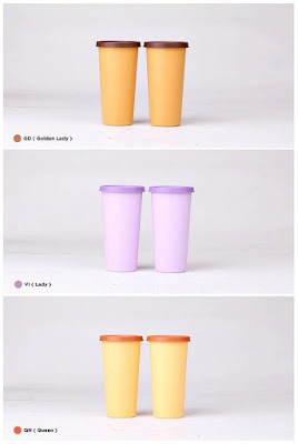 Big Tumbler Twin Tulipware