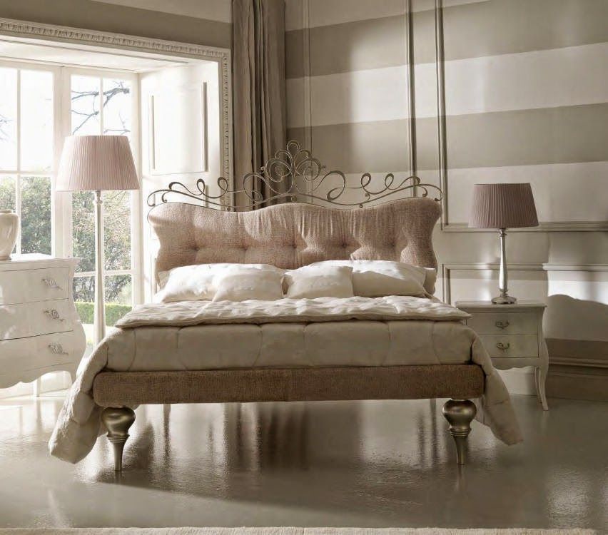 Design interior mobila dormitor de lux Italia - Design Interior | Amenajari interioare - Bucuresti | Mobila Dormitor Italia Pat Glamour art.6064
