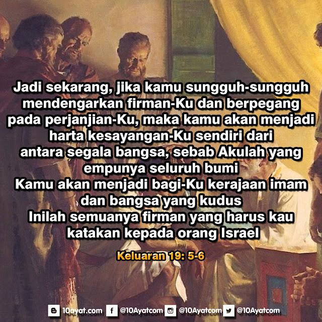 Keluaran 19: 5-6