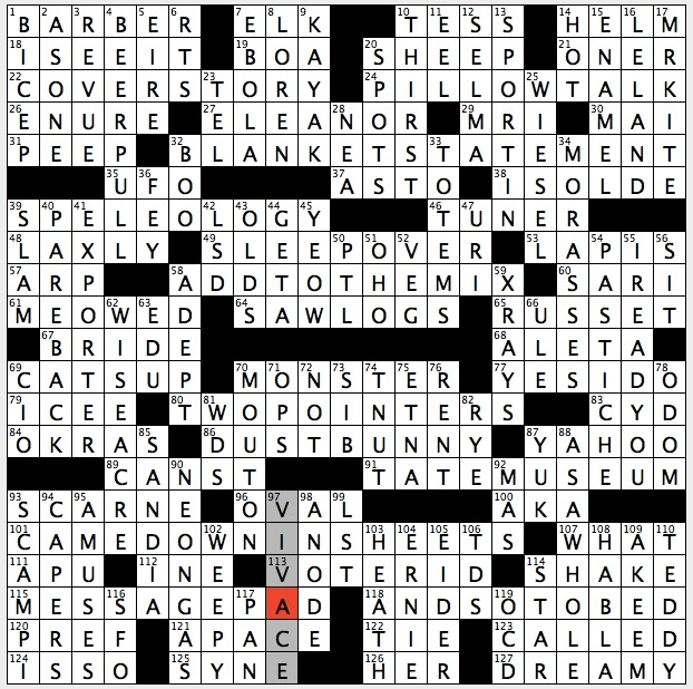 Sunday September 11 2016  sc 1 st  Rex Parker - blogger & Rex Parker Does the NYT Crossword Puzzle: Alternative to boeuf ... 25forcollege.com