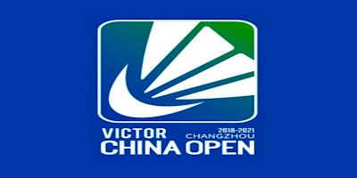 Keputusan Badminton Terbuka China 2019 (Jadual)