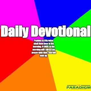 Today's Devotion |Sunday| [STANDING ON GOD'S PROMISES (I)]