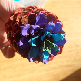 This multiplication pine cone craft is really popular. Very pretty and effective.