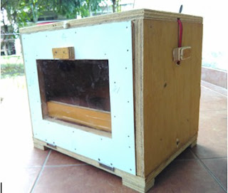 make  simple egg incubator from wood