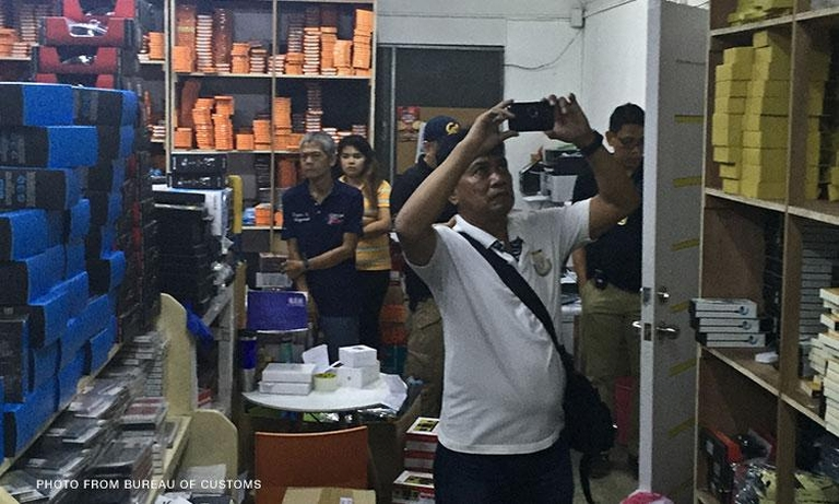 Bureau of Customs (BOC) seizes imported devices